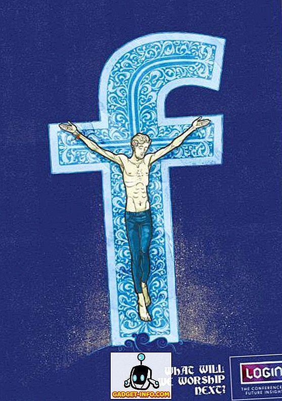 5 अद्भुत विज्ञापन अभियान फेसबुक को शामिल करना