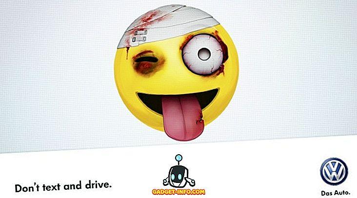 폭스 바겐이 제공하는 놀라운 캠페인 텍스트 및 운전을해서는 안되는 이유