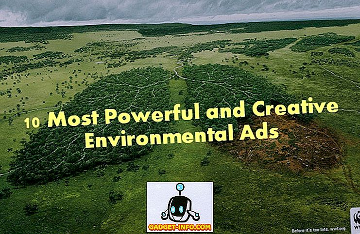 10 सबसे शक्तिशाली और रचनात्मक पर्यावरण विज्ञापन