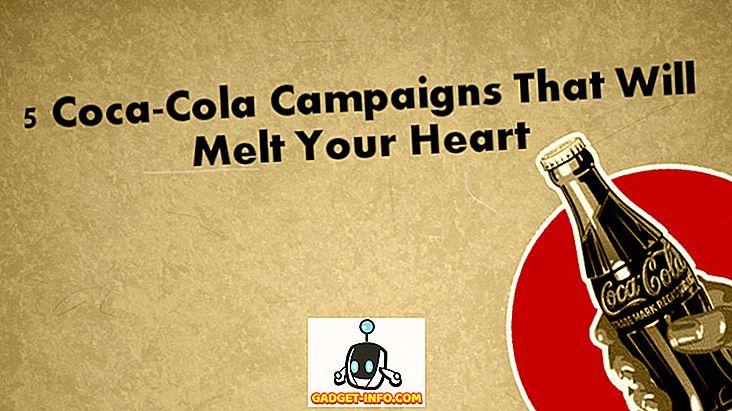 당신의 얼굴에 행복을 가져다 줄 5 코카콜라 캠페인