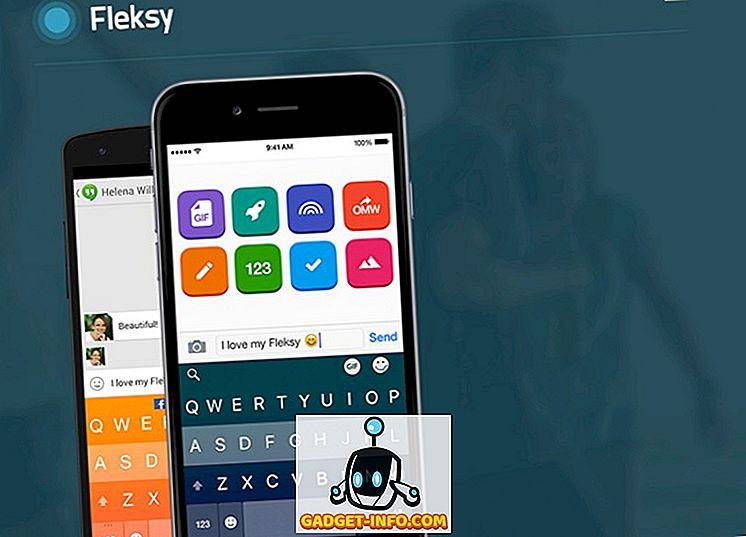 Le 5 alternative di tastiera Fleksy che è possibile utilizzare
