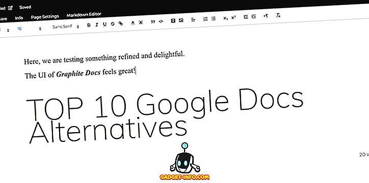 Las 10 mejores alternativas de Google Docs