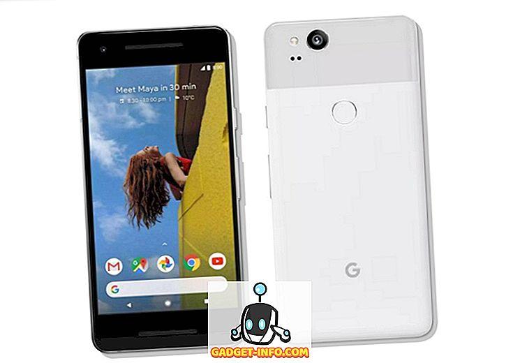 Top 7 alternatív Google Pixel 2, ktoré si môžete kúpiť