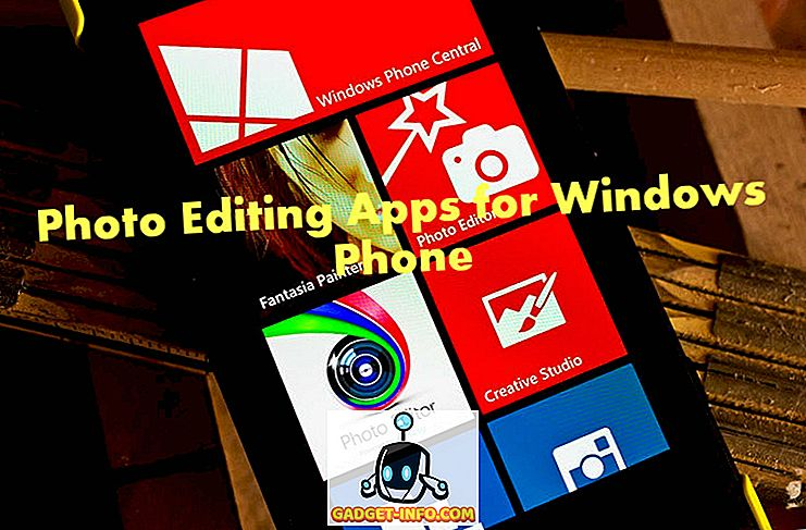 10 bästa gratis fotoredigeringsapplikationer för Windows Phone