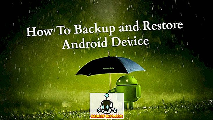 Tukaj je, kako varnostno kopiranje in obnoviti vaš Android naprave