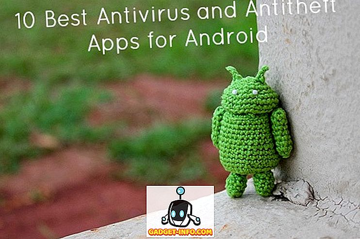 Topp 10 Antivirus och Antitheft Android Apps