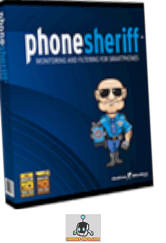 PhoneSheriff - een applicatie voor monitoringactiviteiten