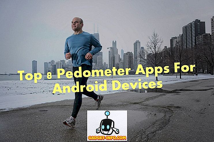 Top 8 pedometer apps til Android enheder