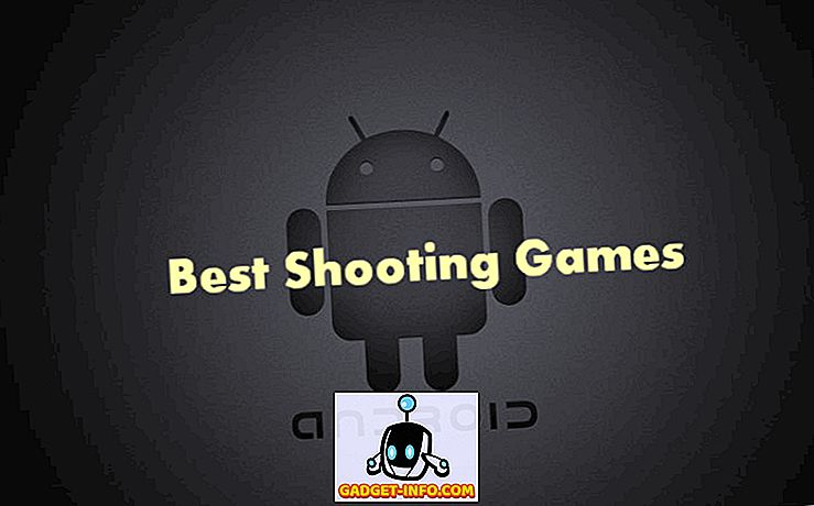 Top 10 Labākās šaušanas spēles Android