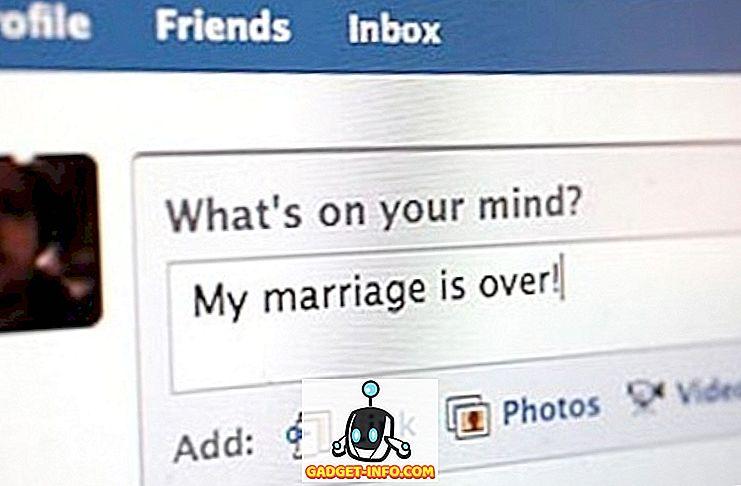 Adakah Facebook Tegar Bertanggungjawab Untuk Perceraian?