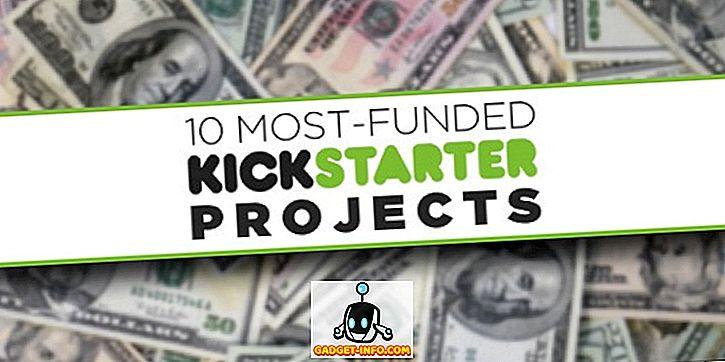 10 kõige rohkem rahastatud tehnoloogiaprojekte Kickstarteris