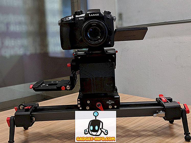 cool gadgets - iFootage Shark Slider Mini recenze: Velký Slider pro Indie kameramany