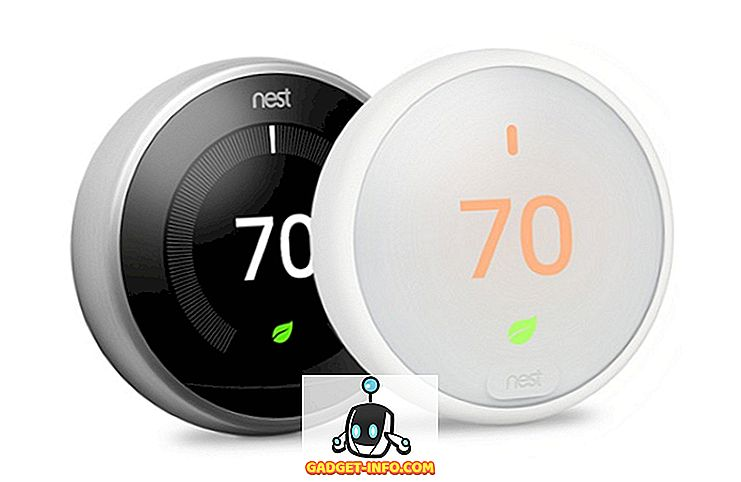 Nest Termostat E vs Nest Learning Termostat: Snabb jämförelse
