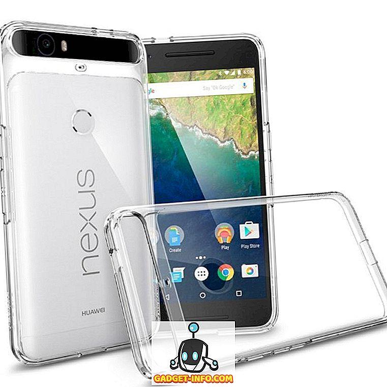 10 Bedste Nexus 6P Beskyttelsessager