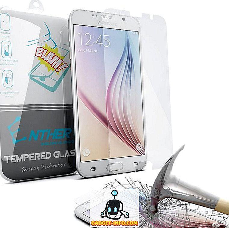 atdzist sīkrīkus - 15 Best Samsung Galaxy S6 ekrāna aizsargi