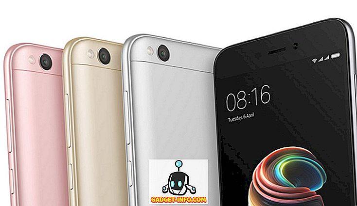 lahedad vidinad - 10 parimat 4G telefoni alla 5000 INR (detsember 2018)