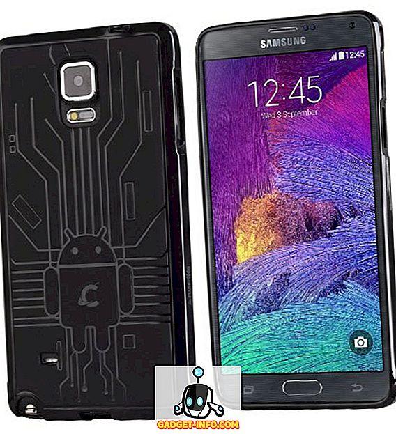 cool gadgeti: 10 Najbolji slučajevi Samsung Galaxy Note 4, 2019