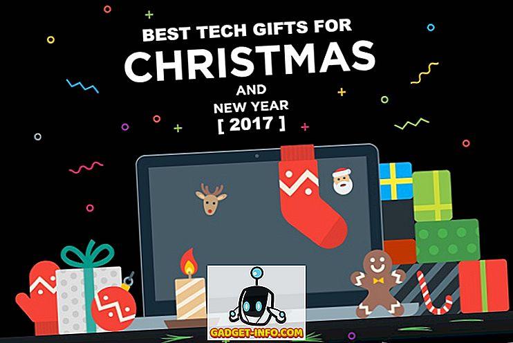 25 parimat tehnilist kingitust jõulude ja uue aasta jaoks (2017)