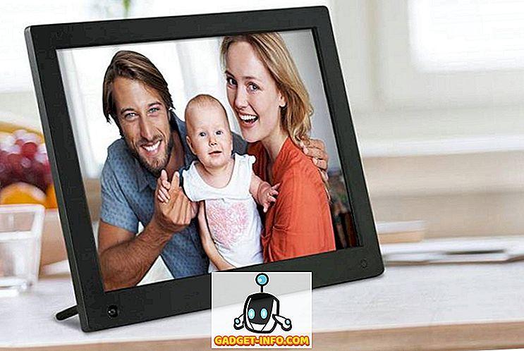 cool gadgets - 10 bedste digitale fotorammer du kan købe