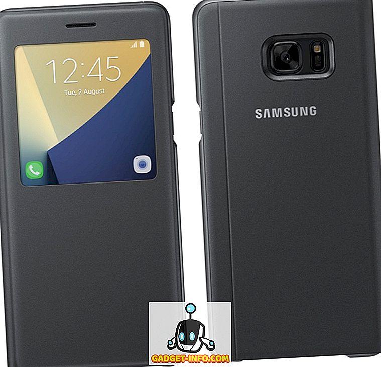 59c7a04b5c0 La nueva cubierta abatible S View para los Note 7 incluso se empaqueta en  una función de pie, lo que le permite apoyar la carcasa en un ángulo de 45  grados.
