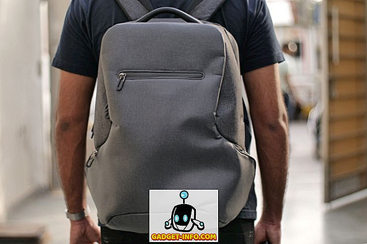 Xiaomi Mi Travel Backpack Backpack: Tilfredshed til en overkommelig pris