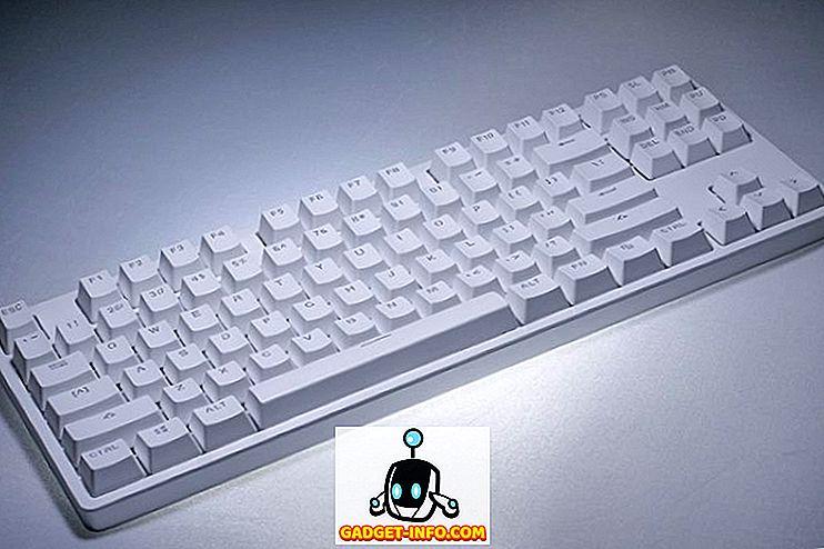 coole gadgets - Xiaomi Yuemi MK01 Mechanisch toetsenbord Review: Geweldig voor typen, slecht voor gaming