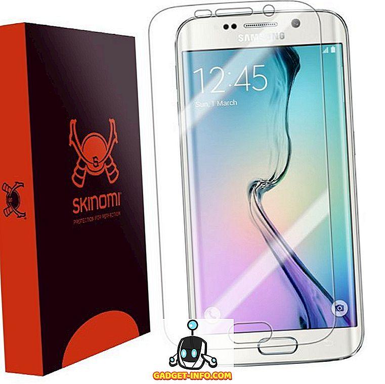 coole Gadgets: 10 Beste Samsung Galaxy S6 Edge-Displayschutzfolien