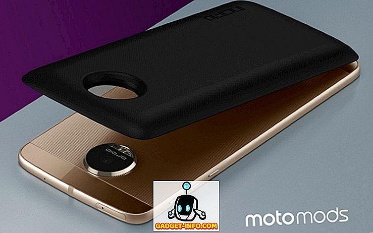 coole gadgets: 6 Beste Moto Z-modi om uw Moto Z-smartphone te verbeteren