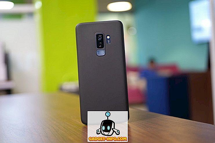 เคส Galaxy S9 แบบมินิมอลลิสต์และเพรียวบางเป็นสิ่งมหัศจรรย์