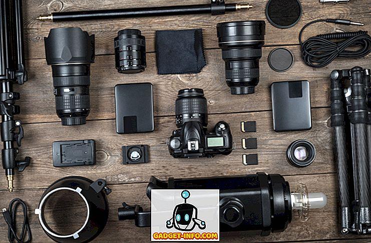10 големи DSLR аксесоари за начинаещи фотографи