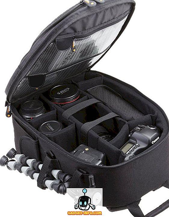 TOPTOO Sacoche pour Appareil Photo DSLR /étanche Sac /à Dos 13 x 10,4 x 4,9 Pouces pour appareils DSLR Cam/éras sans Miroir