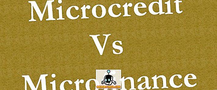 atšķirība starp - Atšķirība starp mikrokredītu un mikrofinansējumu