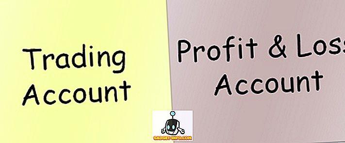 Erinevus kauplemiskonto ja kasumiaruande vahel