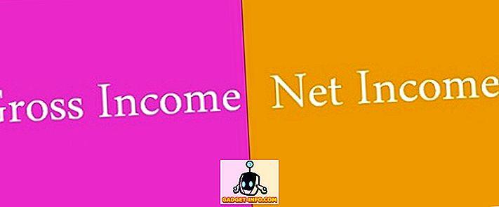 Brüt ve Net Gelir Arasındaki Fark