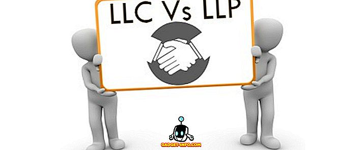 الفرق بين: الفرق بين LLC و LLP