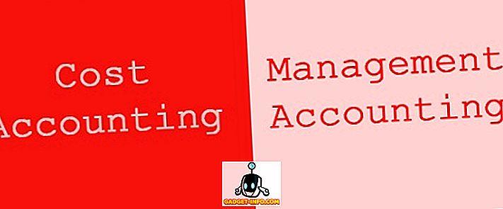 Verschil tussen kostenadministratie en management accounting