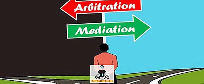 Unterschied zwischen - Unterschied zwischen Mediation und Schiedsverfahren