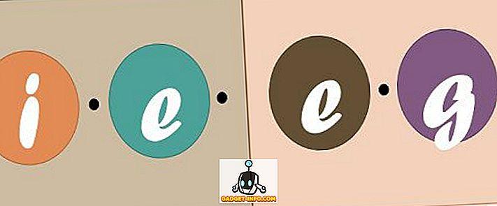 forskjell mellom - Forskjellen mellom ie og eg
