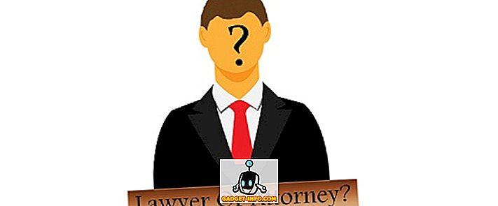 Skillnad mellan advokat och advokat
