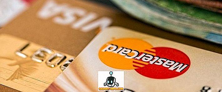 Razlika između Visa i MasterCard