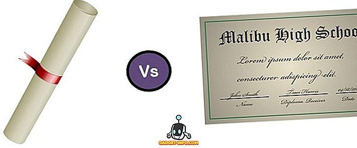 différence entre - Différence entre diplôme et diplôme