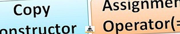 Unterschied zwischen Copy Constructor und Zuweisungsoperator in C ++