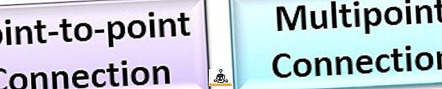 الفرق بين - الفرق بين نقطة إلى نقطة واتصال متعدد النقاط