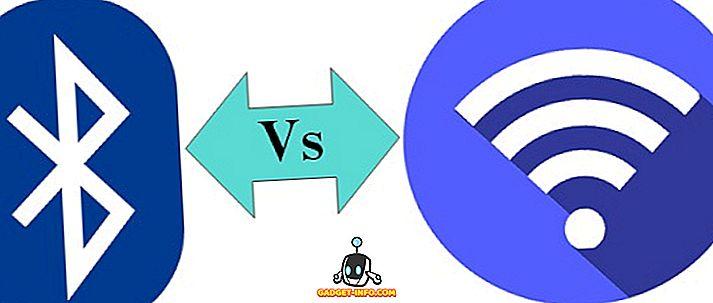 Razlika između Bluetootha i WiFi
