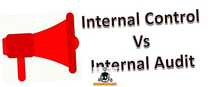 разлика между: Разлика между вътрешния контрол и вътрешния одит