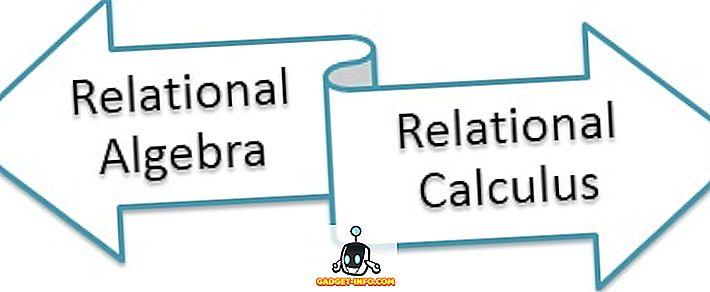 différence entre: Différence entre l'algèbre relationnelle et le calcul relationnel