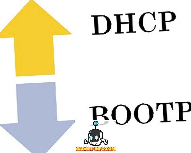 Razlika med BOOTP in DHCP