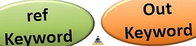 Atšķirība starp ref un out C #