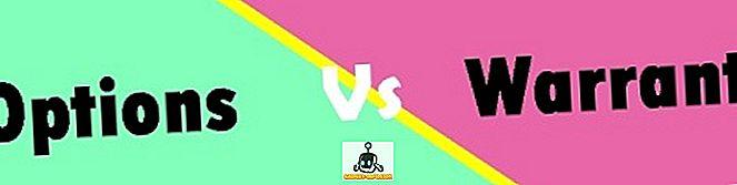Diferencia entre opciones y opciones binarias