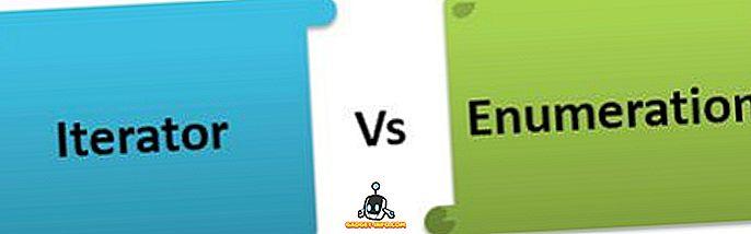 razlika između - Razlika između Iterator i Enumeration Interface u Java
